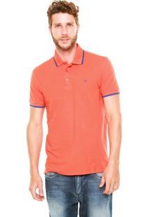 Camisa Polo Forum Custom Laranja