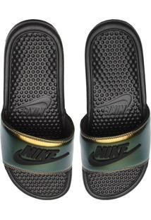 Chinelo Slide Nike Sportswear Benassi Jdi Se Preto