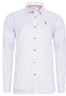 Camisa Masculina Essent One Chess - Branco