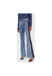 Calça Jeans Carmim Flare Marselha Azul