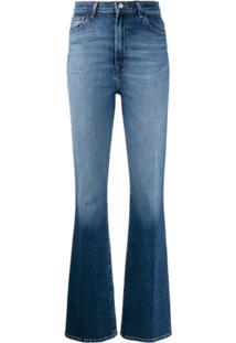 J Brand Calça Jeans Bootcut Runway Cintura Alta - Azul