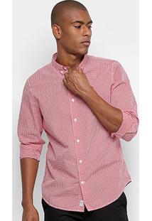 Camisa Xadrez Timberland Rattle Ginghm Masculina - Masculino