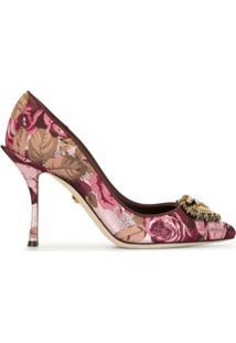 Dolce & Gabbana Sapato Dg Amore - Rosa
