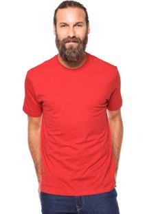 Camiseta Wrangler Logo Vermelha