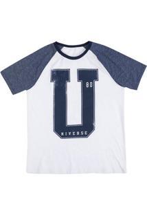 Camiseta Masculina Hering Em Molagem Slim E Mangas Raglan