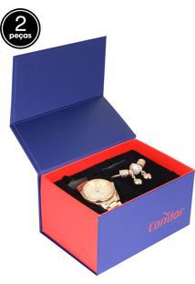 412e380d3f Relógio Digital Condor Inox feminino