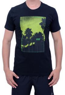 Camiseta Gul Venice Neon Preto