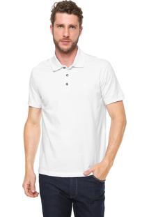 Camisa Polo John John Reta Simple Basic Branca