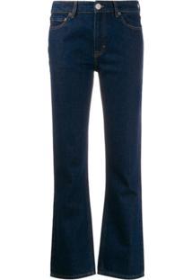 Victoria Victoria Beckham Calça Jeans Bootcut Arizona - Azul
