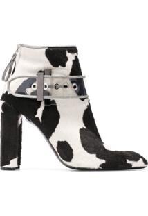 Premiata Ankle Boot 'M5029' De Couro - Branco