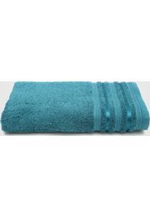 Toalha De Banho Santista Prata Dante Azul