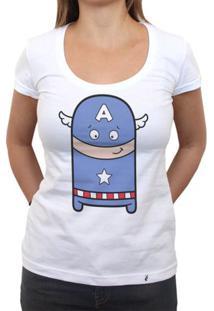Cuti América - Camiseta Clássica Feminina