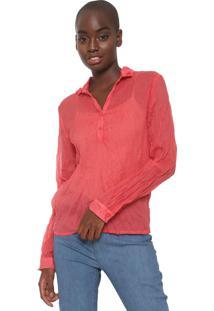 Camisa Cantão Amarração Vermelha