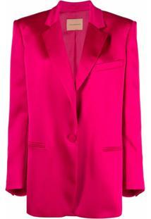 Andamane Oversized-Fit Blazer - Rosa