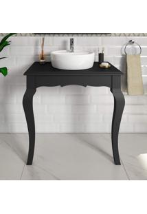 Gabinete Para Banheiro Paris P E C Artemobili Preto