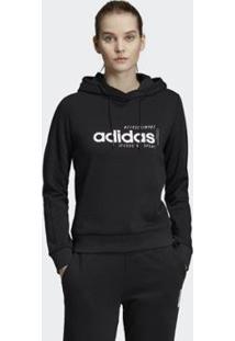 Blusa Adidas Com Capuz W Bby Feminina - Feminino