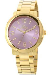 bfa039ab236b3 Relógio Digital Allora Rosa feminino