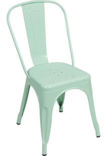 Cadeira Retrã´- Verde ÁGua- 86X36X35,5Cm- Or Desior Design