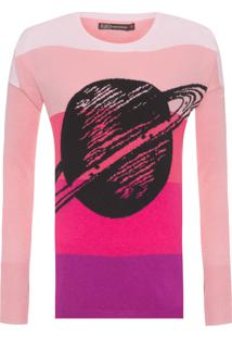 Blusa Feminina Saturno - Rosa
