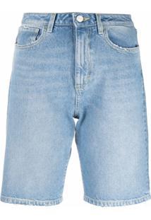 Icon Denim Bermuda Jeans Shay - Azul