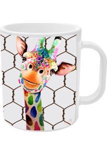 Caneca Girafa Divertida Tamanho Unico Vickttoria Vick Plus Size