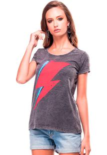 Camiseta Estonada Thunder Useliverpool Cinza