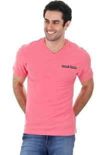 Camiseta Masculina Ocean Bay - Coral