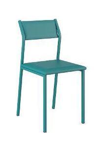 Cadeira Opaque 1 Peça Turquesa - Carraro