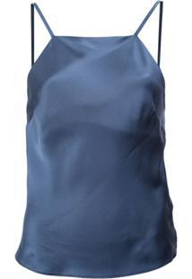 Fleur Du Mal Blusa Reta - Azul