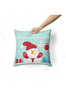 Capa De Almofada Love Decor Avulsa Decorativa Feliz Natal Cute