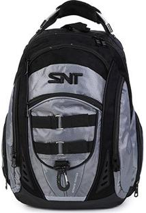 Mochila Seanite Authentic Basic - Unissex-Chumbo
