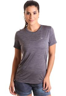 Camiseta Basic Em Energy - Cinza - Liquido