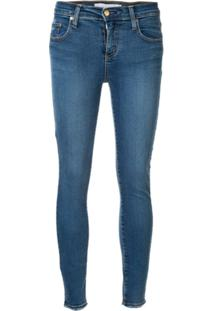 Nobody Denim Calça Jeans Skinny 'Geo' - Azul