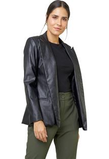 Blazer Mx Fashion Forrado Regina Preto - Kanui