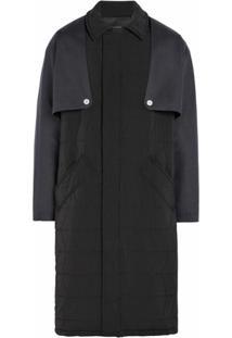 Mackintosh 0003 Trench Coat Matelassê - Preto