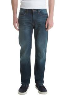 Calça Jeans 514 Straight Levis 514040304 - Masculino-Azul