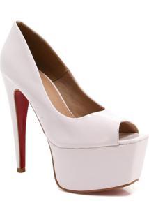 220337436 Peep Toe Balada Verniz feminino | Shoelover