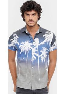 Camisa Reserva Regular Tropical Masculina - Masculino