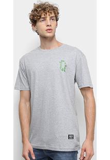 Camiseta Grizzly Leaf Cutout Masculina - Masculino