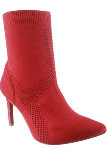 Bota Feminina Ankle Boot Tanara