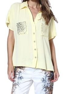 Camisa Energia Fashion Hot Amarelo
