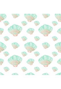 Papel Adesivo Sunset Adesivos De Parede Conchas Pintadas Coloridas - Rolo 6,00 X0,50 M