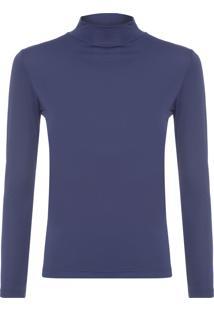 Camiseta Feminina Térmica Basic Neutro - Preto