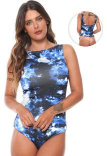 Body Morena Rosa Cavado Azul