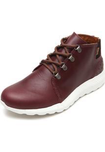 Bota Couro Coca Cola Shoes Storm Vinho