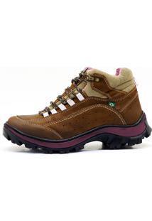 Coturno Atron Shoes Adventure Feminino Rato 019