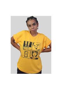 Camiseta Quimera Afronta Amarela