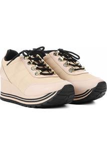 ef82576bf R$ 124,99. Netshoes Tênis Dakota Flatform Amarração Feminino ...