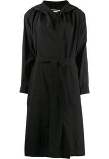 Mcq Alexander Mcqueen Oversized Coat - Preto