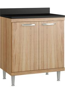 Armário De Cozinha Para Cooktop 2 Portas 2541.853Tp Argila - Multimóveis